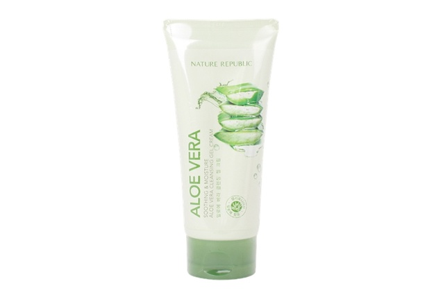Brand: NATURE REPUBLIC - Soothing & Moisture Aloe Vera Cleansing Gel Cream